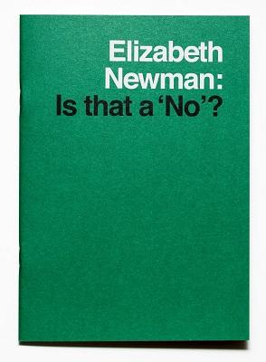 Elizabeth Newman: Is that a No