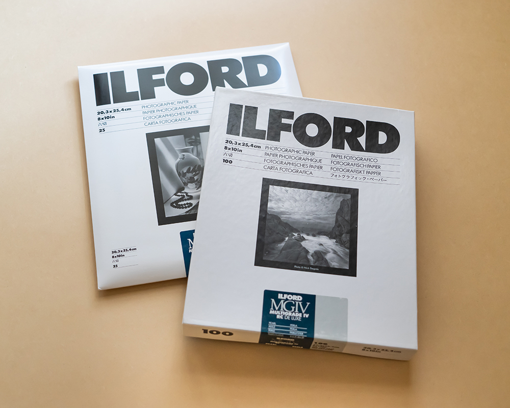 Ilford RC Black and White Paper 8 x 10