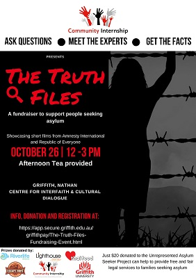 The Truth Files / Fundraising Event