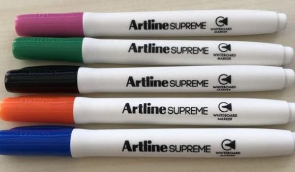 Artline Whiteboard Markers Assorted Colours - PLU 105907