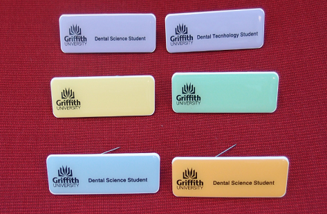 School of Dentistry Student REPLACEMENT Name Badge