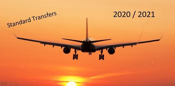 Airport Transfers (Standard) 2020 / 2021