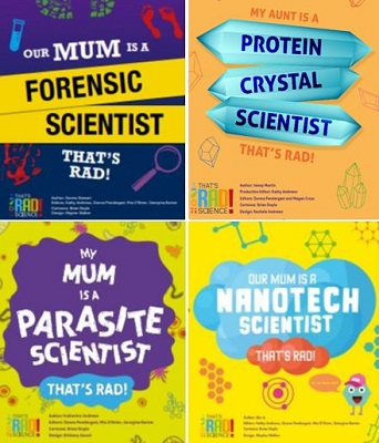 Thats RAD Science Book Series