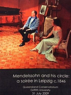 Mendelssohn and His Circle: A Soiree in Leipzig c. 1846
