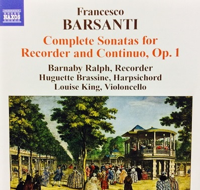 Complete Sonatas for Recorder and Continuo by Francesco Barsanti