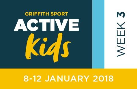 Griffith Sport Active Kids Week Three / Jan 8-12, 2018