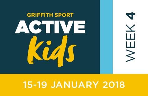 Griffith Sport Active Kids Week Four / Jan 15-19, 2018