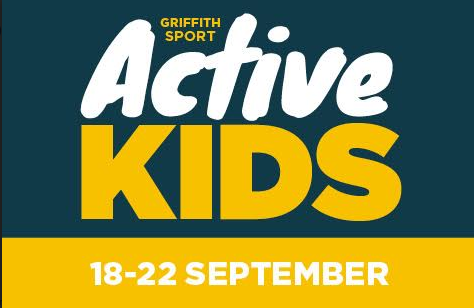 Griffith Sport Active Kids Week One Sept 2017