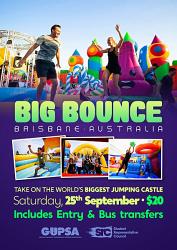 T2 - SRC/GUPSA Big Bounce Jumping Castle - Saturday September 25, 2021