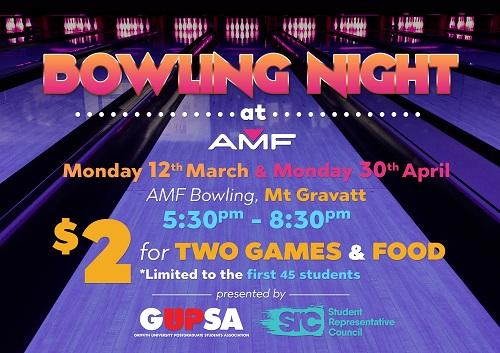 SRC Bowling Night - March 12