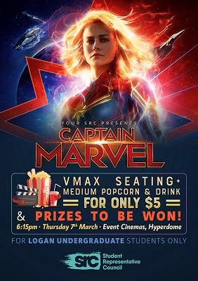 Logan SRC Movie Night - Captain Marvel