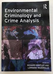 Environmental Criminology and Crime Analysis - PLU 105955