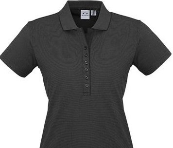 Graduate Diploma of Exercise Science Uniform Shirts / Ladies Shadow Polo - Graphite Black