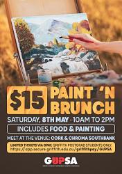 GUPSA Paint n Brunch - Saturday 8 May 2021