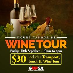 GUPSA Mt Tamborine Wine Tour