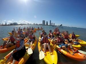 Kayak Tour to Wavebreak Island