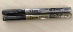 Pilot Gold or Silver Marker Pen - PLU 105927