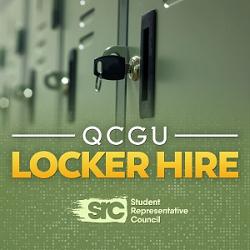 QCGU Locker Hire 2021