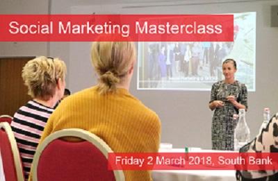 Social Marketing Masterclass - March 2018