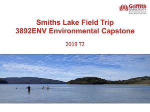 Smith Lake - Capstone Field Trip