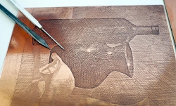 Copper Plates for Etching (0.9mm gauge)