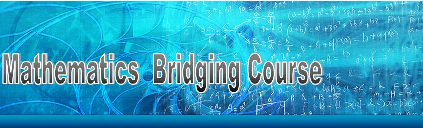 Mathematics Bridging Course, Griffith School of Environment      (Gold Coast)