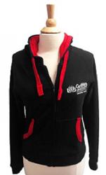 Hoodie Navy Zip - Ladies
