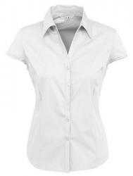 Speech Pathology Uniform Shirts - Ladies Cap Sleeve