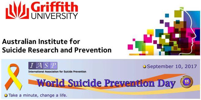 AISRAP's World Suicide Prevention Day Community Forum - 8 Sept 2017