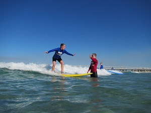 Surfing Lesson and BBQ