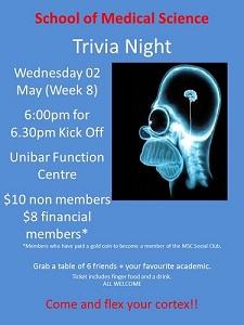 School of Medical Science Trivia Night